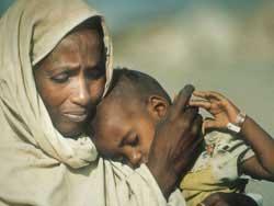 Darfur Woman Child