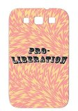 Pro Liberation TPU Silver Global Concerns Haiti South America Mother Iraq Love News Politics Life Africa Family Earth Peace Awareness Darfur Middle East America Colombia War Cuba Freedom Genocide For Sumsang Galaxy S3 Cover Case
